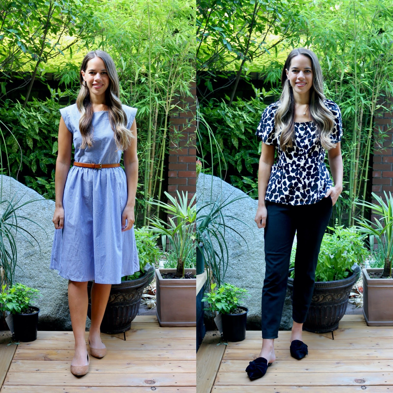 Jules in Flats - What I Wore to Work in August (Business Casual Workwear on a Budget)