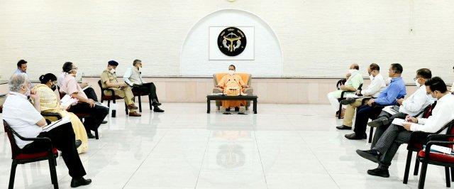 मुख्यमंत्री योगी ने सभी निर्माण परियोजनाओं को निर्धारित समय सीमा में पूरा करने के निर्देश दिए    Chief Minister Yogi directed to complete all construction projects within the stipulated time frame.         संवाददाता, Journalist Anil Prabhakar.                                 www.upviral24.in