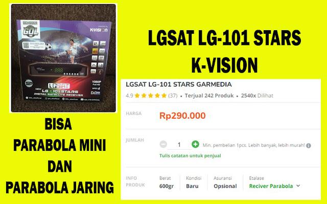 LGSAT LG-101 STARS C-BAND KU-BAND