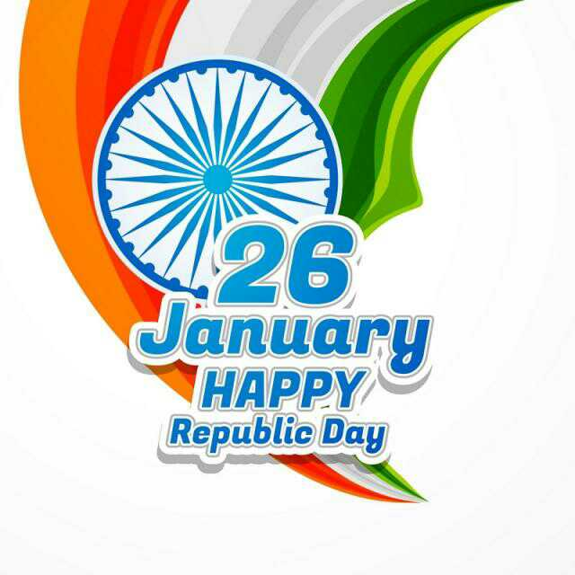 Happy Republic Day! 26 January