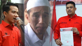 Jokowi Ngotot Pilkada di Saat Wabah Karena Anak dan Mantu Ikut Nyalon?