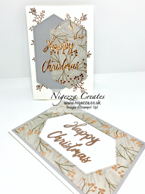 Nigezza Creates with Stampin' Up! and Word Wishes and Stitched Nested Label Dies