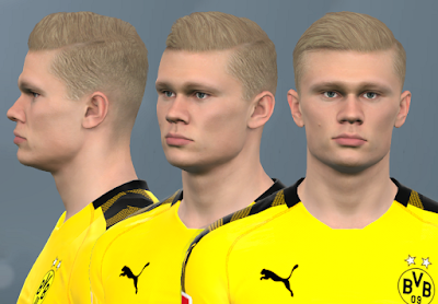 PES 2017 Faces Erling Haaland by WER