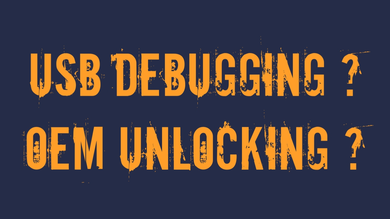 Mengaktifkan Oem Unlocking