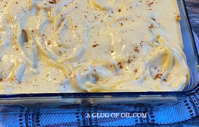 Pastitiso ready for the oven