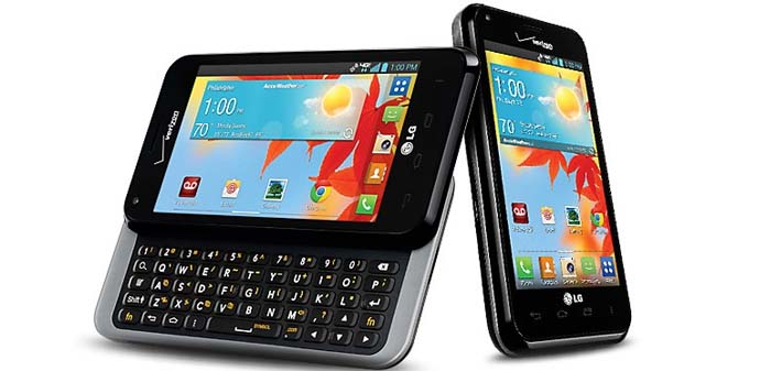 HP Android Qwerty - LG Optimus F3Q