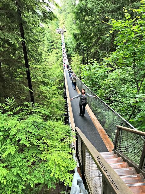 Capilano Suspension Bridge Park   Vancouver   Canada