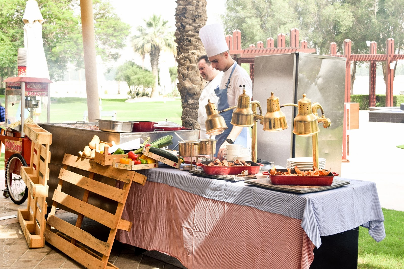picnic brunch at the lagoon the ritz carlton doha lil miss