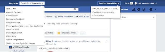 Fitur Tersembunyi terbaru di facebook