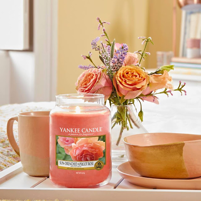 yankee candle rose apricot