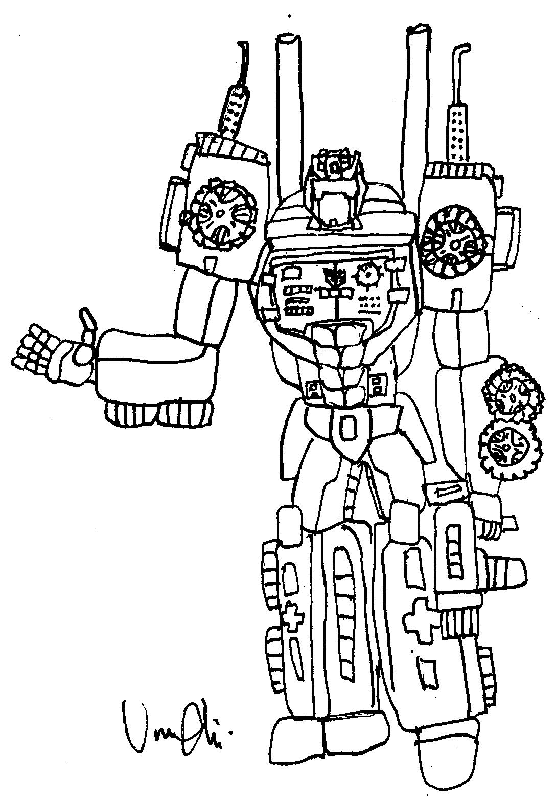Blog Megadiverso Transformers Para Colorear E Imprimir