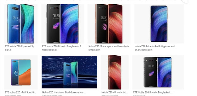 Image result for nubia launches its dual display mobile z20 globally