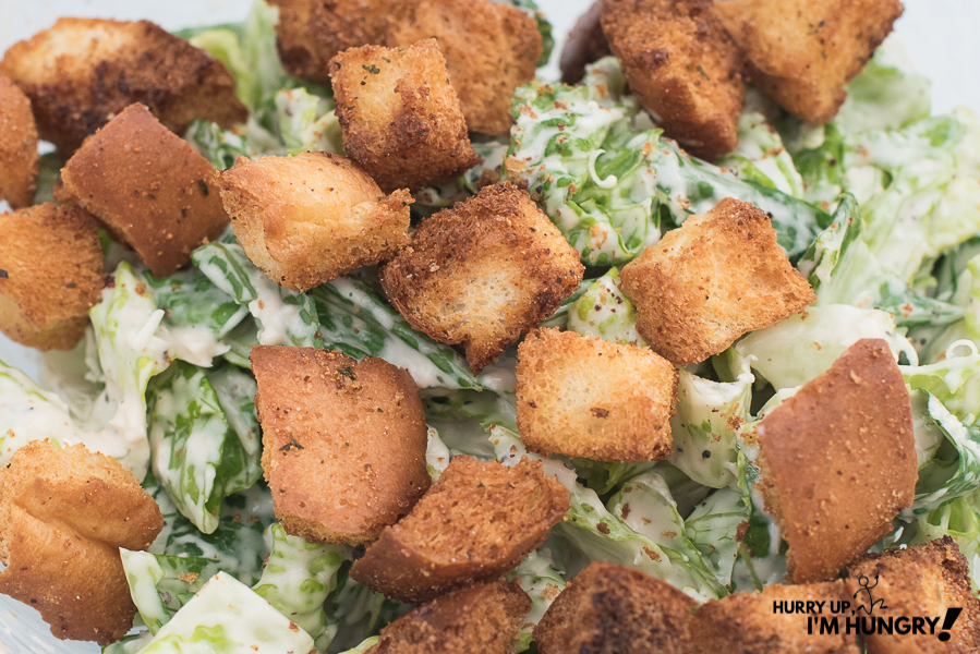 Easy air fryer recipe: how to make homemade croutons in an air fryer
