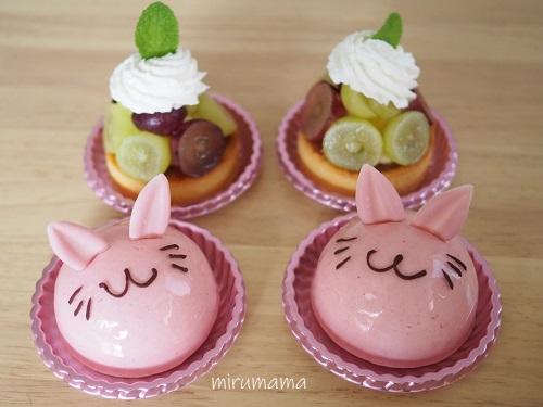 まちなみラパンのケーキたち
