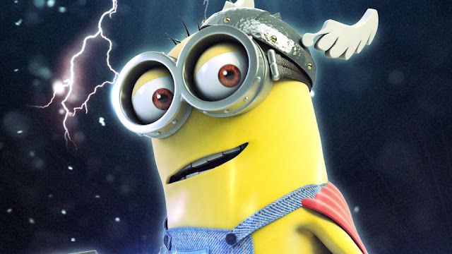 Cute minion thor HD Wallpapers