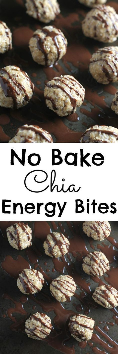 NO BAKE CHIA ENERGY BITES
