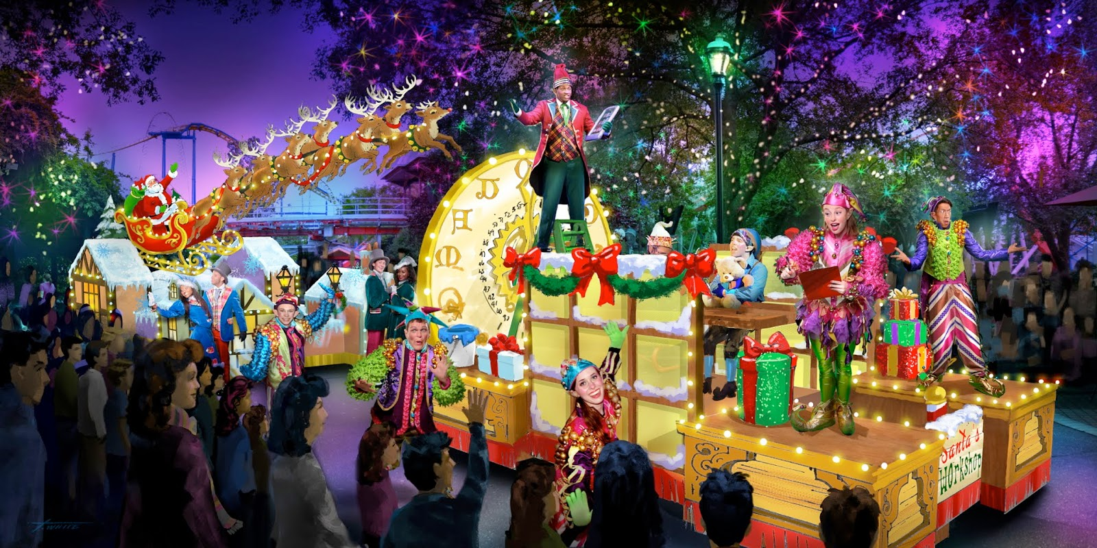 NewsPlusNotes: Carowinds Adding New Parade to Winterfest