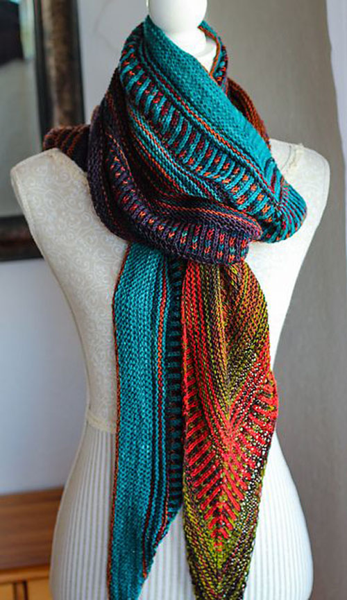 Hot Line - Knitting Pattern