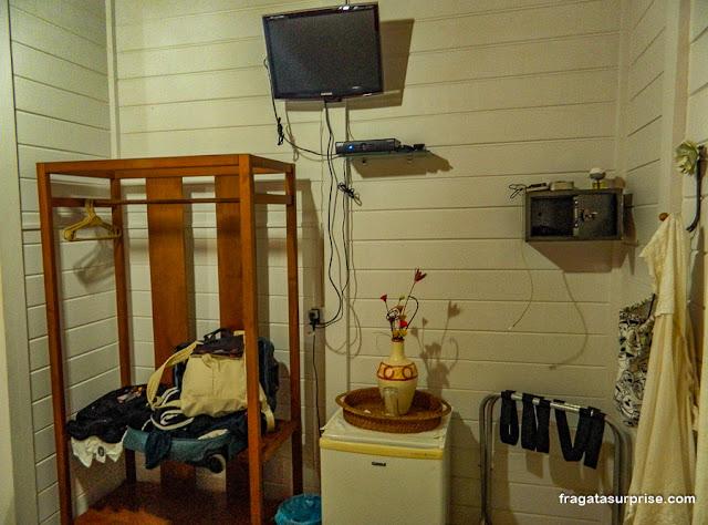 Apartamento da Pousada Fortaleza, Fernando de Noronha