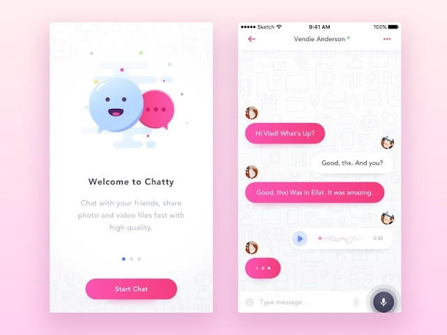 Users Need The Chat Application Theme