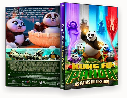 CAPA DVD – Kung Fu Panda – As Patas do Destino2018- ISO