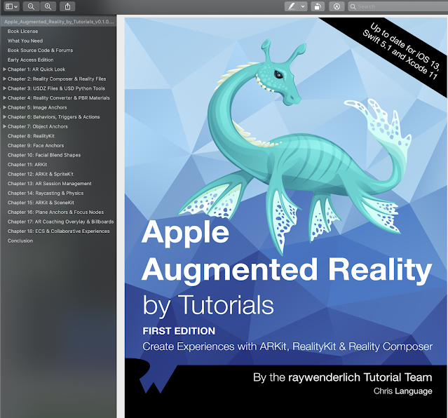 Apple Augmented Reality by Tutorials