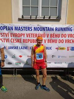 Un leones en Campeonato de Europa de Montaña