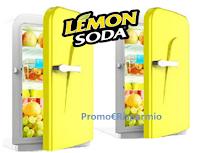 Logo Lemonsoda vinci gratis 7 esclusivi minifrigo