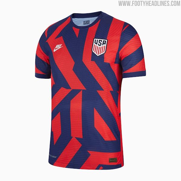 USA 2021 Away Kit Released - Footy Headlines
