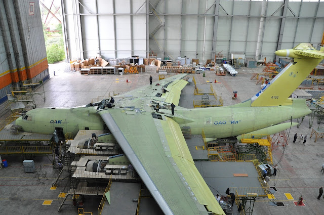 Ilyushin il-76MD-90A in Assembly Line