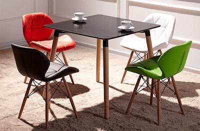 Bàn ghế cafe Eames, mẫu bàn ghế cafe đẹp nhất