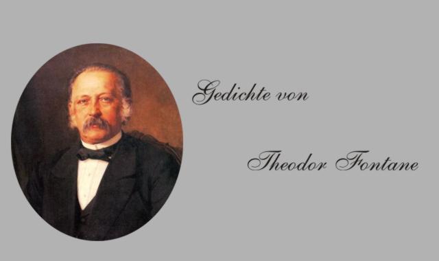 Gedichte Und Zitate Fur Alle Gedichte Von T Fontane Abschied 1