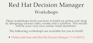 decision manager workshops