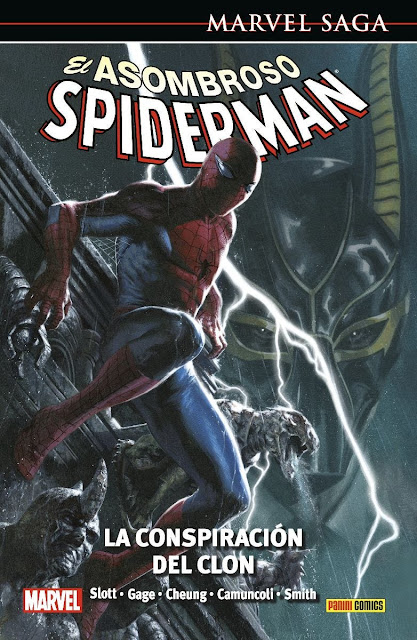 Reseña de Marvel Saga. El Asombroso Spiderman 55. La Conspiracion del Clon de Dan Slott - Panini Comics