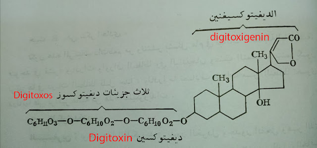 غليكوزيد ديغيتوكسين Glicoside Digitoxin