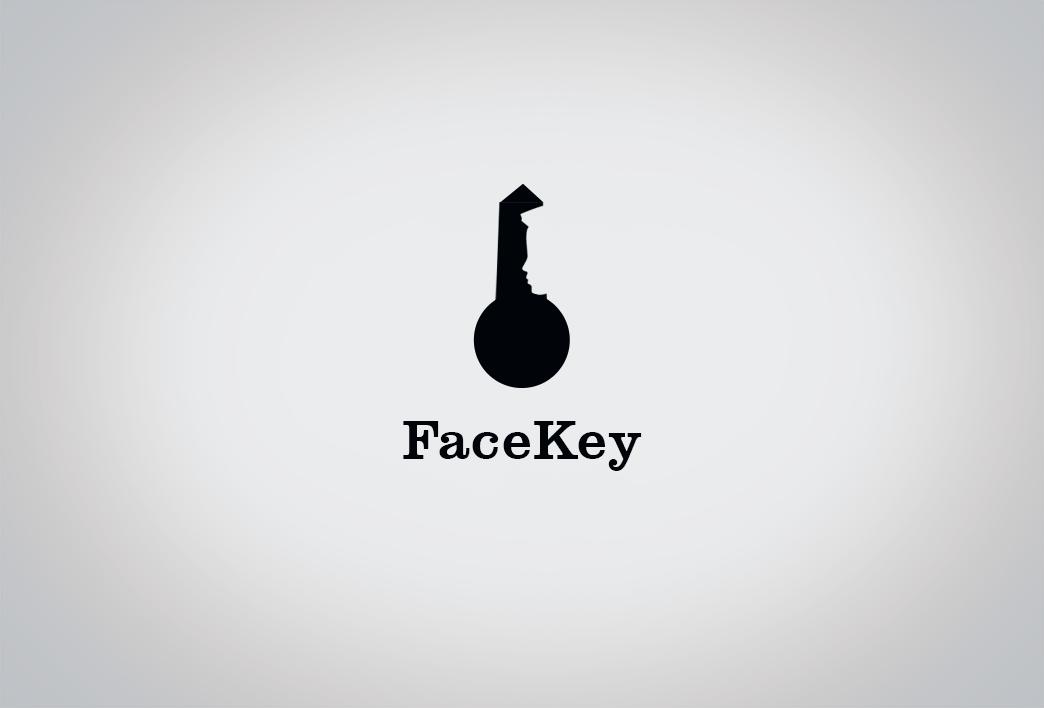 Face Key Logo Design Inspiration