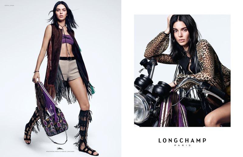 Kendall Jenner for Longchamp Spring/Summer 2019
