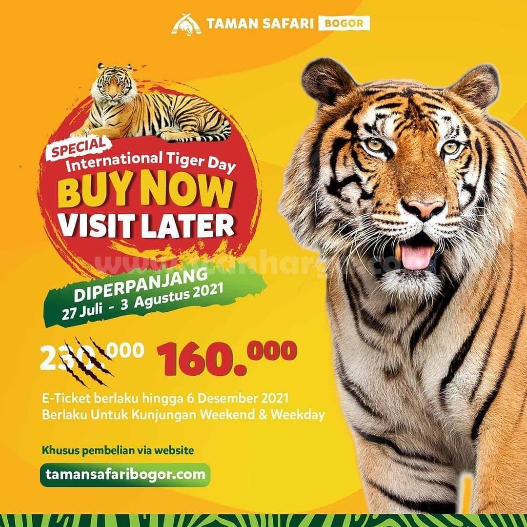 Taman Safari Bogor Promo Buy Now Visit Later  - harga Tiket Rp. 160.000