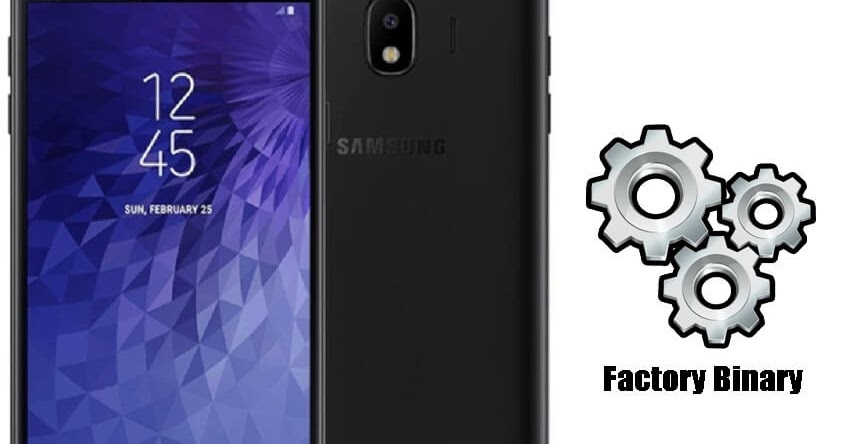 Samsung Galaxy J4 SM-J400G Combination Firmware