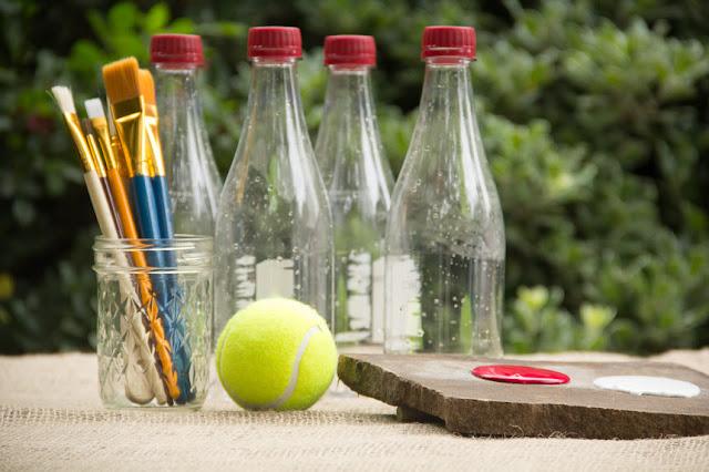 juego bolos, botellas de plastico, manualidades, reciclar, juegos