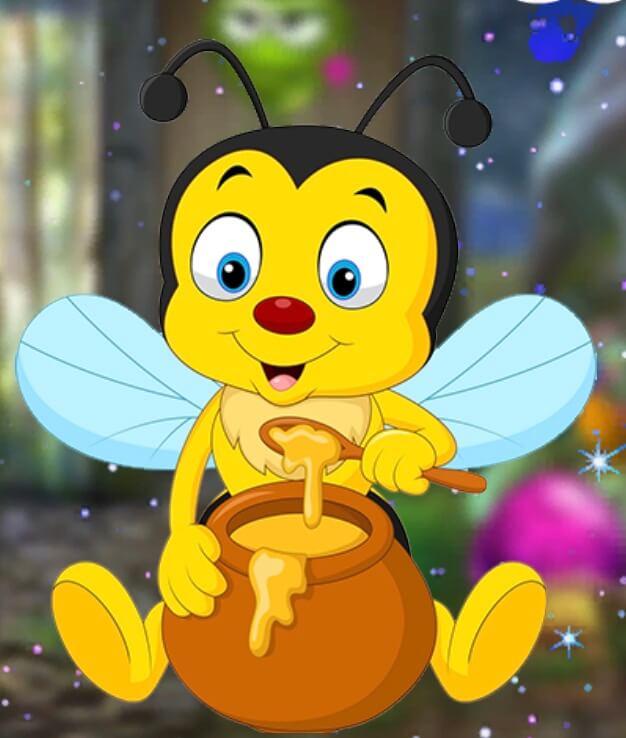 Games4King Cute Honey Bee Escape