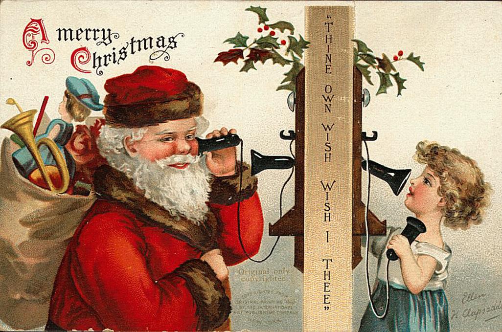 Immagini Cartoline Natale Vintage.Il Ventaglio Di Piume Bellissime Cartoline Di Natale