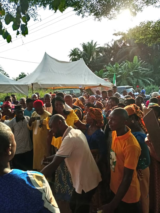 APGA IN ISUIKWUATO LOCAL GOVERNMENT WAS DEPLETED, AS OVER 300 OF IT'S MEMBERS  DEFECTS TO PDP.