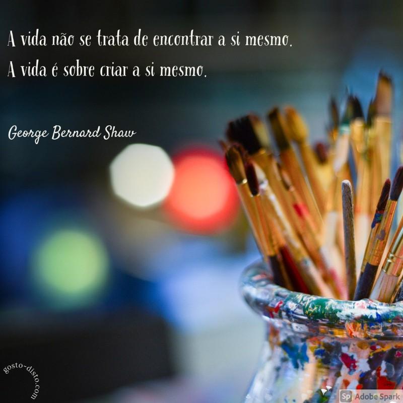 Pensamento de George Bernard Shaw