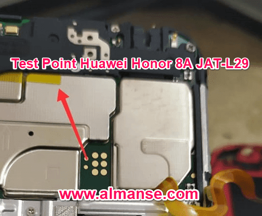 Test Point Huawei Honor 8A JAT-L29