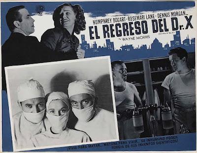 El regreso del Doctor X (1939)