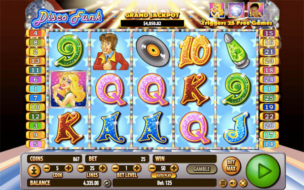 Main Gratis Slot Indonesia - Disco Funk Habanero