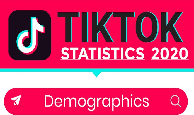 Tiktok Stats for 2020 #infographic