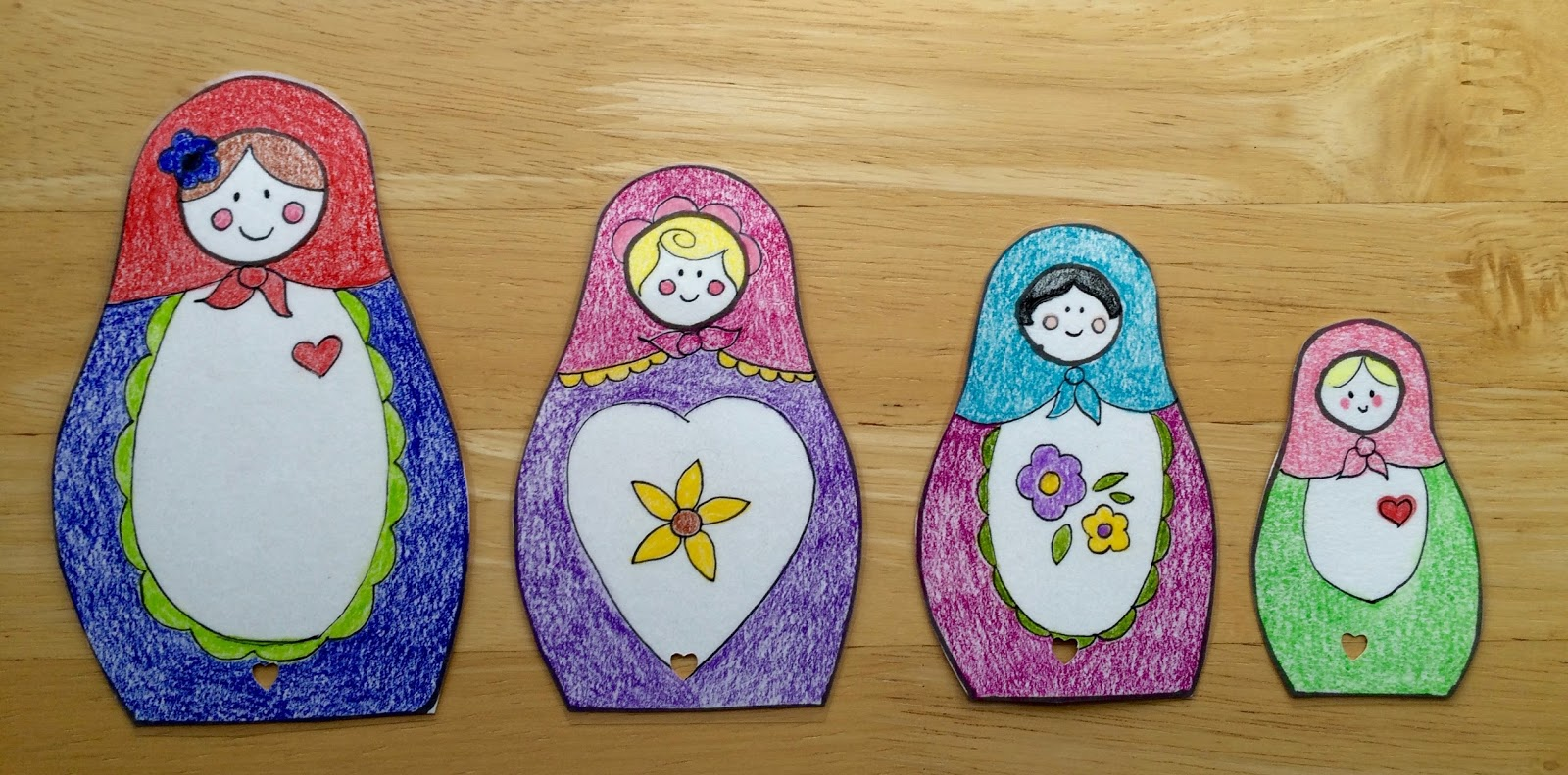 Kathy S Art Project Ideas Russian Matryoshka Art Lesson