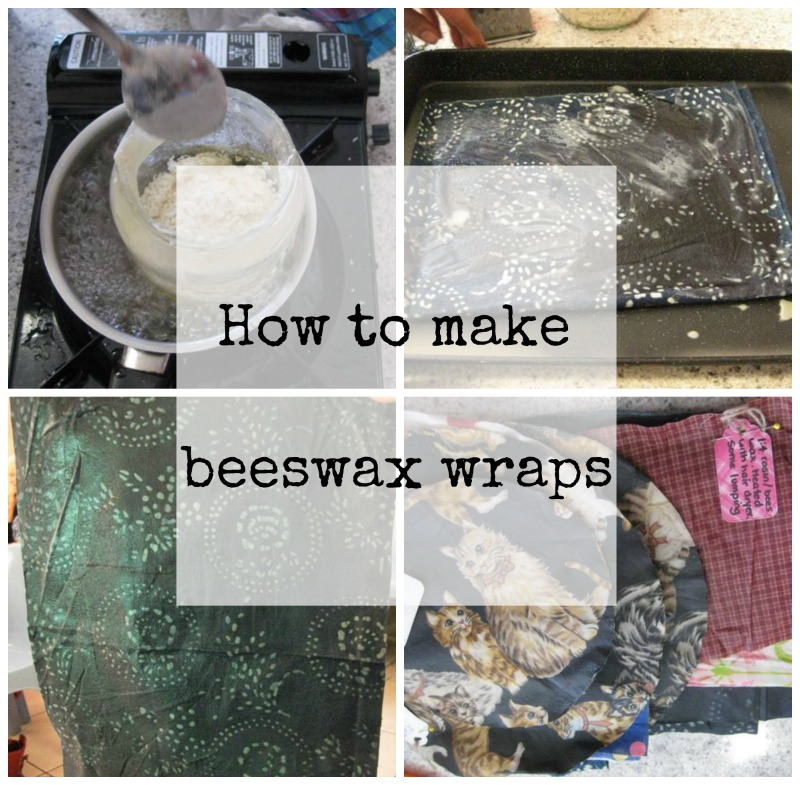 Going Grey and Slightly Green: How to make beeswax wraps